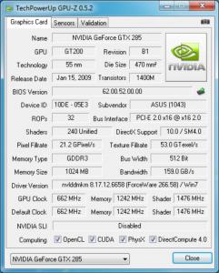 VRAM I have by using GPU-Z Software
