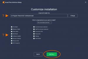 install Avast