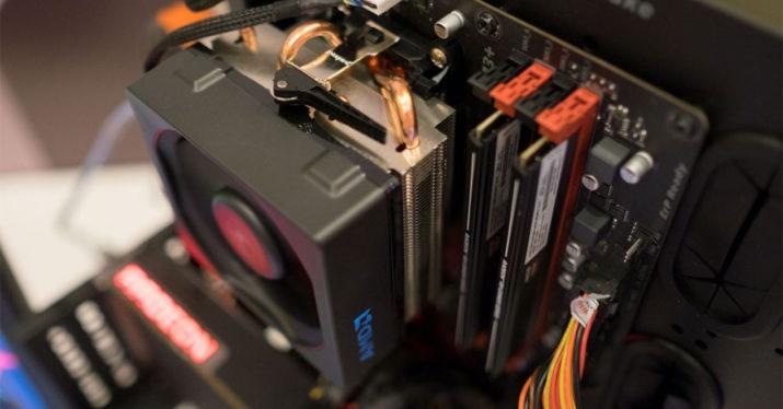 heatsink motherboard