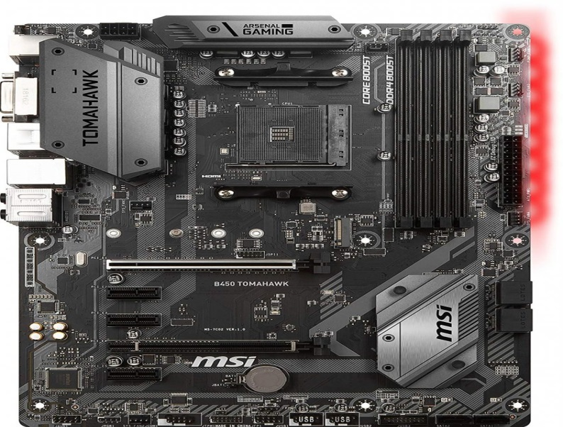 The third best  motherboard for ryzen 5 2600 is MSI B450 TOMAHAWK