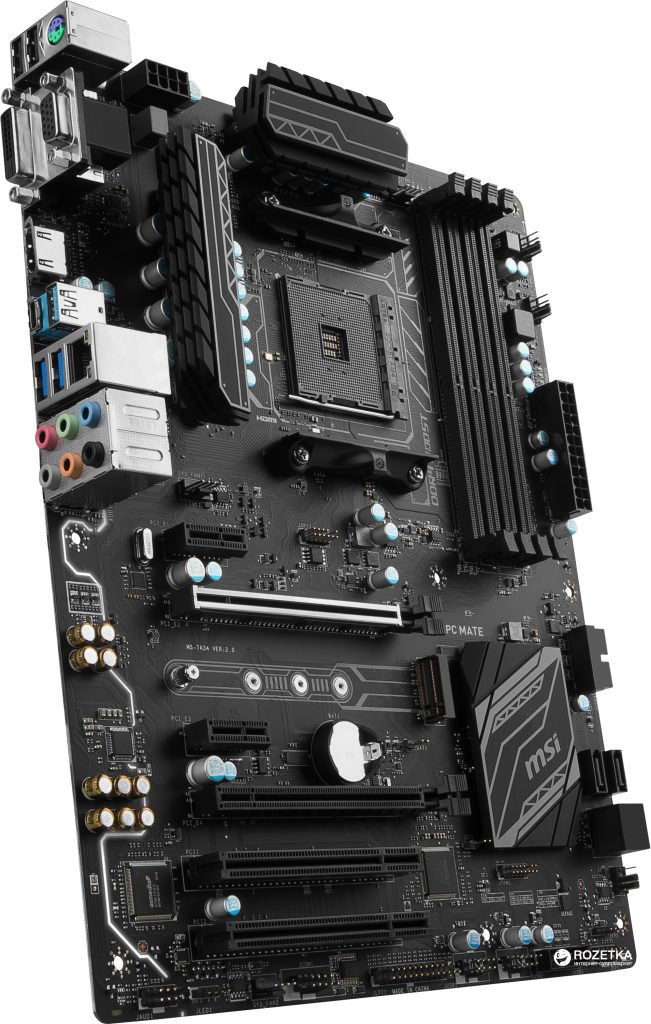 best motherboard for ryzen 5 2600 - MSI B450M MORTAR