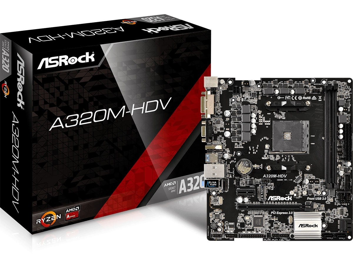 a320m - best motherboard for Ryzen 7 2700x