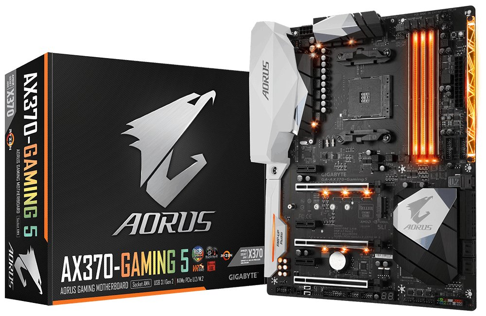 best motherboard for Ryzen 7 2700x - Gigabyte Aorus AX370