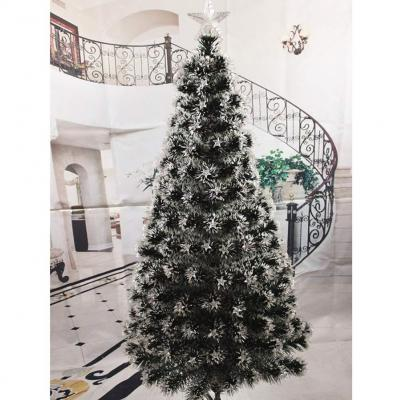 DW and HX Fiber optic Artificial Christmas tree