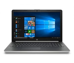 "HP Notebook 15-da0028ns - 15.6 ""HD Laptop (Intel Core i3-7020U, 8 GB RAM, 1 TB HDD, Intel Graphics, Windows 10), Silver Color - QWERTY Keyboard Spanish [Spain]"