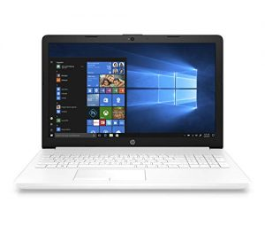 "HP Notebook 15-da0160ns - 15.6 ""HD Laptop (Intel Core i3-7020U, 8GB RAM, 1TB HDD, Intel Graphics, Windows 10) White Color - QWERTY Keyboard English"