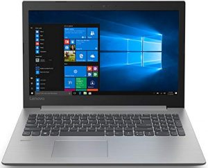 "Lenovo ideapad 330-15IKB - 15.6 ""HD Laptop (Intel Core i3-6006U, 4GB RAM, 128GB SSD, Windows 10) Gray - QWERTY Keyboard English"