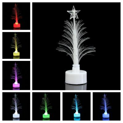 STOBOK Fiber Optic Christmas Tree