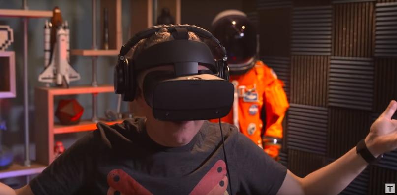 Sound review of Oculus rift sensor