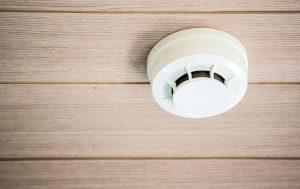 Smoke Detector Camera Power