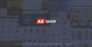 AZshop best shopify themes for jewelry