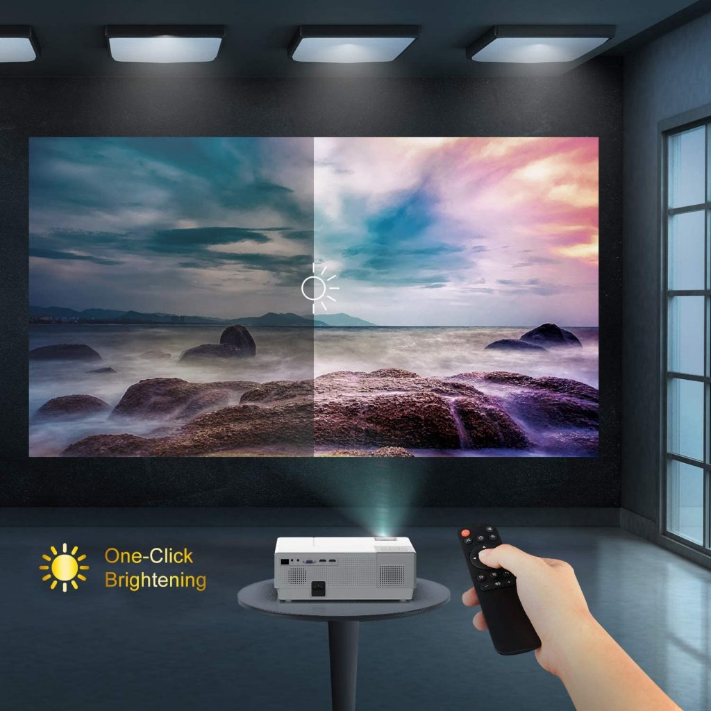 6000 Lumens Projector review