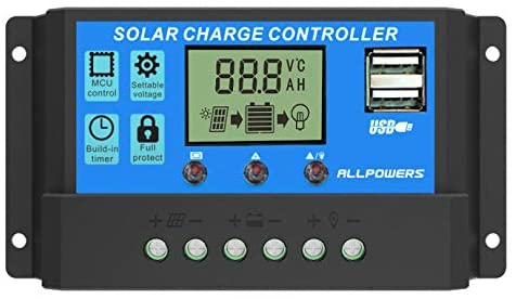 ALLPOWERS 20A Solar Charger Controller