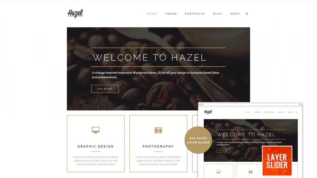 Hazel WordPress Themes