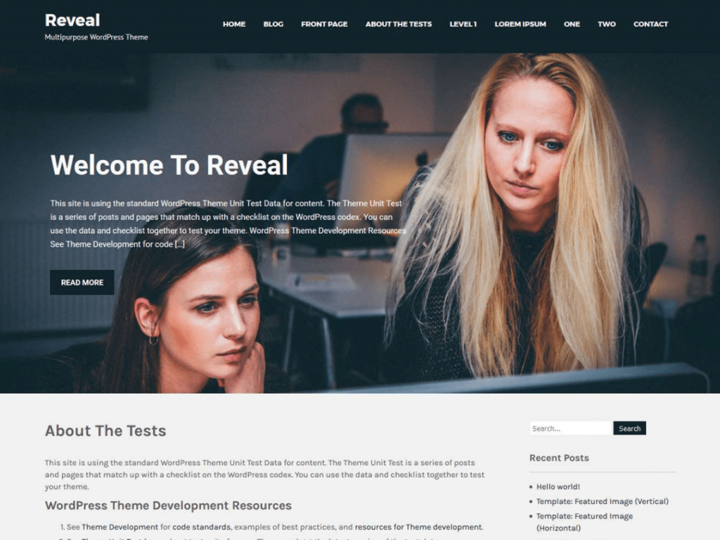 Revel Lite WordPress Theme