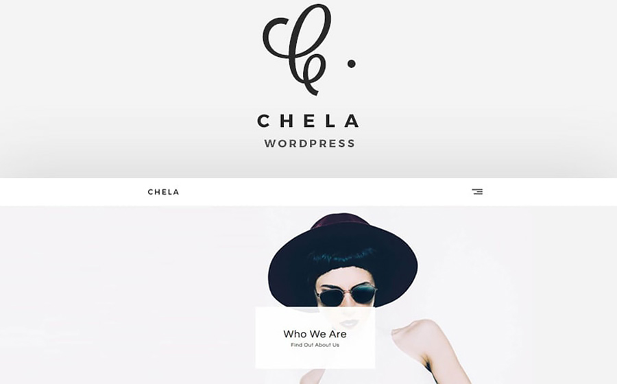 Chela WordPress Theme