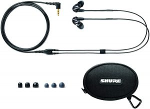 Shure SE215-K - Best In-Ear Headphones