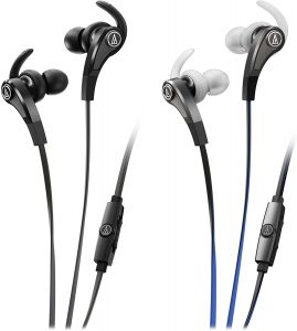 Audio Technica Sonic Fuel ATH-CKX9iS - Sport-Friendly IEMs