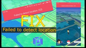 Failed to Detect Location 12 fix