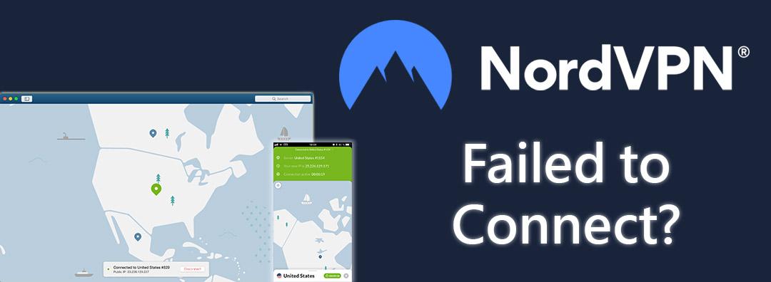 NordVPN not connecting