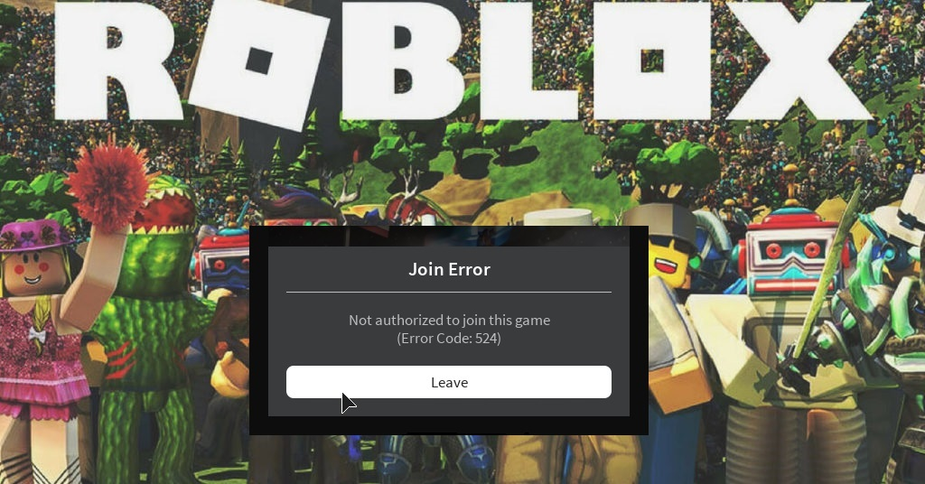 what is ROBLOX Error Code 524